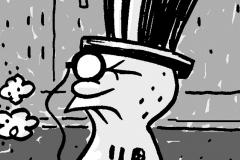 Mr. Peanut Cartoon