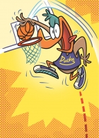 SI Basketball Dunking Duck