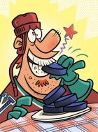 SI Hockey Chew Puck