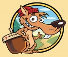 Nuthouse Squirrel Character
