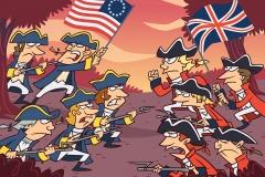 Scholastic/ Declaration of Independence Combat Panel